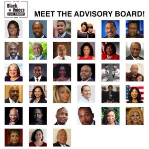 Advisory Board Black Voices for Trump